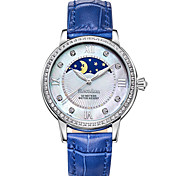 Bestdon® Ladies'/Women's Watch Schoolgirl Fashion Rhinestone Moon Phase Water Resistant  Japanese Quartz Leather Belt Vintage Wristwatch