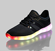 Step the new network LED shoes casual shoes for men and women fashion lamp