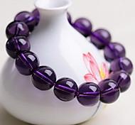 Women Purple Agate Strand Bracelet