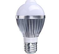 E27 B22 85V-265V 400-550Lm 5W Body Sensor LED Bulb