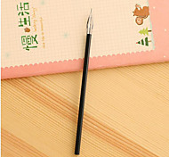 gel de cor gel caneta 0,38 milímetros núcleo caneta de tinta fresca
