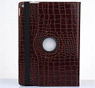New OST Luxury Crocodile Grain Style Rotating Stand PU Leather Case Protective Cover For Apple iPad Mini 4
