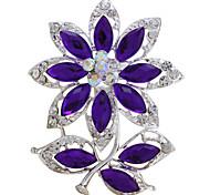 Broches de fleurs la mode d'été vintage pour les femmes bouquet de mariage