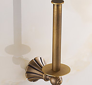 Toilet Paper Holder / Brushed / Wall Mounted /10*10*20 /Brass /Antique /10 10 0.386