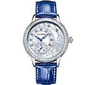 Bestdon® Fashion Vintage Lady Schoolgirl Water Resistant Noctilucent Rhinestone Japanese Quartz Leather Wristwatch
