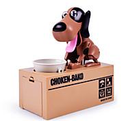 Голодный найден монета банк робот собака монета есть собака cox белое пятно choken bako роботизированная собака банк монет