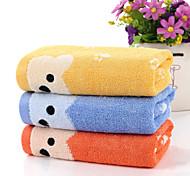 "1 Piece Full Cotton Wash Towel 10"" by 19"" Cartoon Bear Pattern"