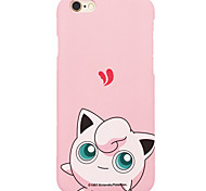 Pocket Little Monster Jiggly Puff 5.5 inch Iphone 6p/6splus Hard Matting Cellphone Cover