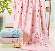"1 Piece Microfiber Bath Towel 55"" by 27"" Cartoon Pattern Super Soft"
