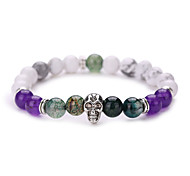 New Arrival Nature Stone Buddha Bracelet Strand Bracelets Daily / Casual 1pc Hot Sale  #YMGS1016