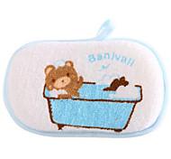 Cotton Bath Rub Baby Shower Bath Sponge Toiletries