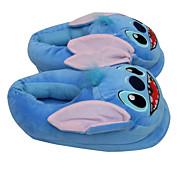 Zapatillas Característica Vellón de Coral Zapatos Kigurumi Pijamas ropa de noche de los animales Azul Un ColorHalloween / Navidad / Día
