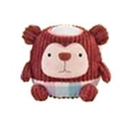 Red monkey Pat Lamp NightLight Battery Infant Sleep NightLight