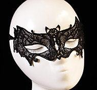 Black / White Lace Mask for Party Animal Shape