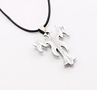 The Catholic Silver Cross Pendant Pendant Titanium Man