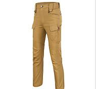 Pantaloni da ciclismo Per uomo Indossabile Bicicletta Pantaloni Cotone giapponese Tinta unita Esercizi di fitness Estate / Autunno