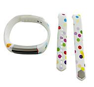 Smart Strap Bracelet Colorful Printing Silicone Bracelet For Fitbit Alta(16)