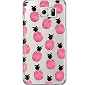 Pineapple Pattern TPU Soft Ultra-thin Case Cover For Samsung GalaxyS7 edge / S7 / S6 edge plus /S6 edge/s6/s5/s4