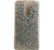 Mandala Painting Pattern TPU Soft Case for LG G4 Stylus/LS770/G3 Stylus/D690/Spirit C70/L70/L90/K10