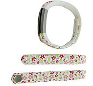 Smart Strap Bracelet Colorful Printing Silicone Bracelet For Fitbit Alta(19)