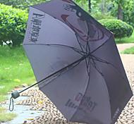 animación necrófago Tokio alrededor de paraguas tres paraguas plegable lluvia del paraguas de sol o sol