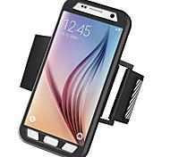 Для Samsung Galaxy S7 Edge Нарукавная повязка Кейс для С ремешком на руку Кейс для Один цвет Твердый PC Samsung S7 edge / S7
