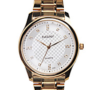 Men's Fashion Diamond Water Watch