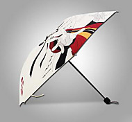 Supply Cartoon Umbrella Cartoon Umbrella Fold Chinchillas Surrounding Windproof Umbrella Uv Sunshade - Naruto