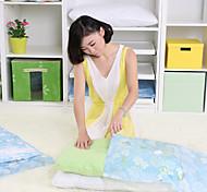 Vacuum clothes quilt compression Thickened 12 wire storage bag  (Medium 90x70cm 5-piece 1 manual pump)