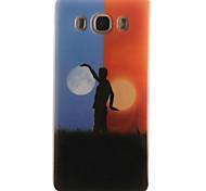 TPU + IMD Day and Night Pattern Soft Phone Case for Galaxy J710/J510/J110/J5/J1/J1 ACE/G850/G530/G360/G357/G355H