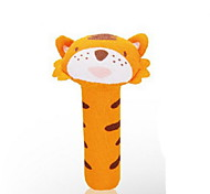 Cotton Baby Hand Toy Cute Animal Kids Handbell Activity Juguetes (Tiger)