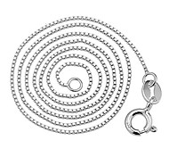 Female clavicle chain sterling silver