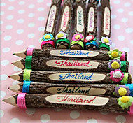 Southeast Asia Thailand Style Original Eco-Tourist Souvenirs Creative Color Pencil Artwork 1PC