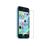 Pack de 5 films de protection d'ecran anti trace de doigt pour Iphone 5C