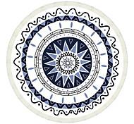 Йога коврики Без запаха / Липкий / Экологию Polyester Фиолетовый / Белый