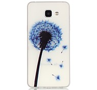 Dandelion Pattern TPU Material Glow in the Dark Soft Phone Case for Samsung Galaxy A310 A510(2016)