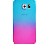 Для Samsung Galaxy S7 Edge С узором Кейс для Чехол Кейс для Градиент цвета Твердый PC Samsung S7 edge / S7 / S6 edge / S6