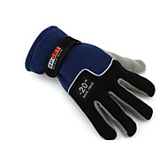 Winter Gloves Unisex Keep Warm Ski & Snowboard / Snowboarding Black Canvas Free Size-Others