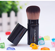 Soft Wool Brush Telescopic Cosmetic Brush Grooming Portable Dropping