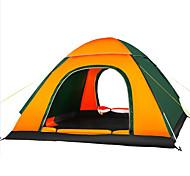 3-4 человека Световой тент Тройная Палатка Автоматический тент Влагонепроницаемый Хорошая вентиляция Водонепроницаемость Ультрафиолетовая