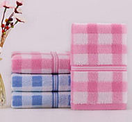 Pure Cotton Jacquard Discontinuity Towels Small Squares