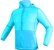 Deportes Bicicleta/Ciclismo Ropa para Protegerse del Sol Unisex Mangas largasImpermeable / Transpirable / Resistente a la lluvia /
