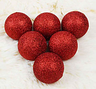 Christmas Ornament 6Cm Bulk Powder Ball Christmas Ornaments