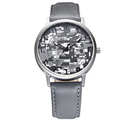 Men's Camouflage Fashion Dial PU Leather Strap Quartz Wrist Watch