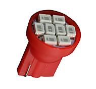 20x rein rot t10 8-SMD Seitenkeil Karte Dome Türinnen LED-Licht-Lampen w5w 168
