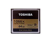 toshiba exceria pro cartão de memória 64gb 32gb 16gb compactflash - 1066x