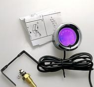 """2 """"(52мм) LCD 7 Цветовая температура масла датчик с датчиком / автоматический измерительный прибор / метр автомобиля"""