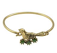 Cute Bird Shape Thin Bracelets Bangles