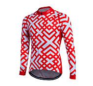 Fastcute® Cycling Jersey Women's / Men's / Kid's / Unisex Long Sleeve BikeBreathable / Quick Dry / Front Zipper / YKK Zipper / Reflective