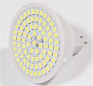 5w 2835x80smd GU10 / MR16 теплый холодный белый цвет пластиковый корпус водить пятна света (AC220-240V)